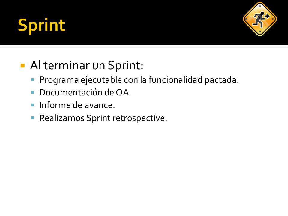 Métricas ayudan pero… Sprint 3