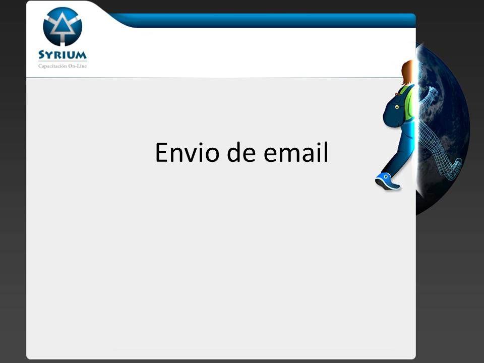 Función mail Para el envío de mails PHP nos provee de la función mail() Esta función esta incluida en todas las versiones de PHP, sin necesidad de instalar nada extra.