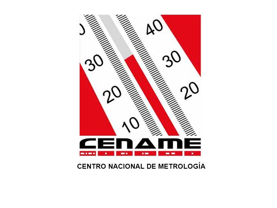 CENTRO NACIONAL DE METROLOGÍA