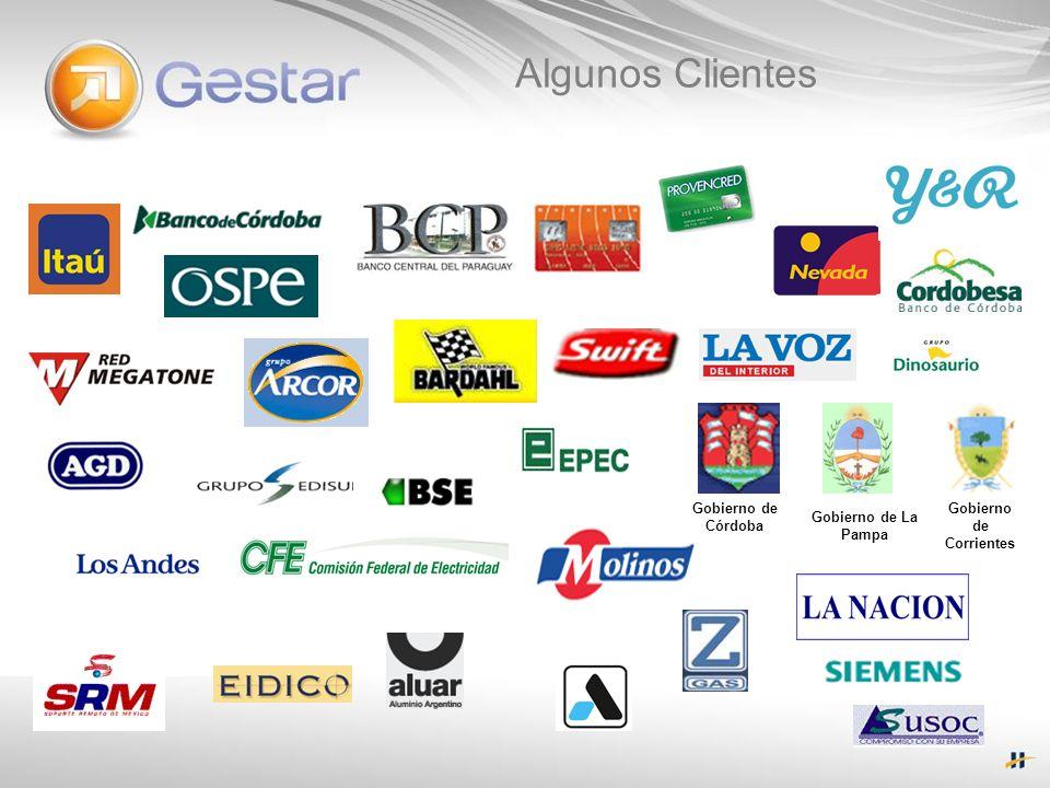Gobierno de Córdoba Gobierno de Corrientes Gobierno de La Pampa Algunos Clientes