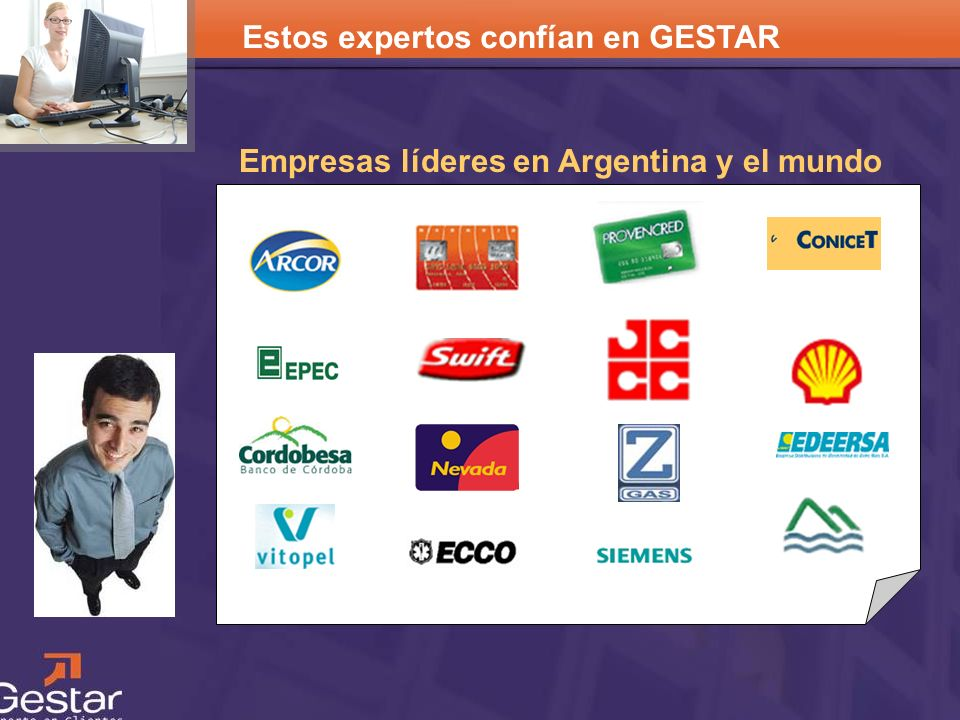CRM Empresas líderes en Argentina y el mundo Estos expertos confían en GESTAR