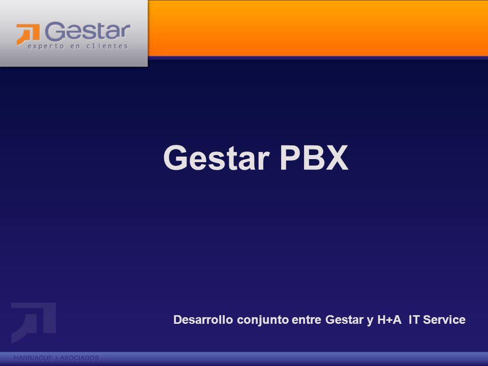 Gestar PBX Desarrollo conjunto entre Gestar y H+A IT Service