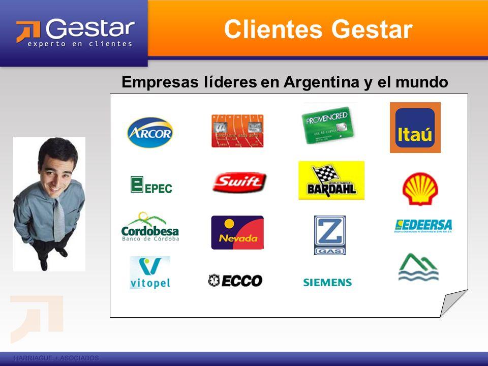 Empresas líderes en Argentina y el mundo Clientes Gestar