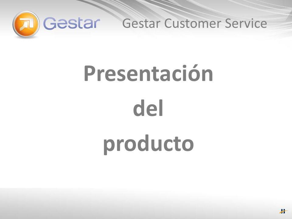Gestar Customer Service Presentación del producto