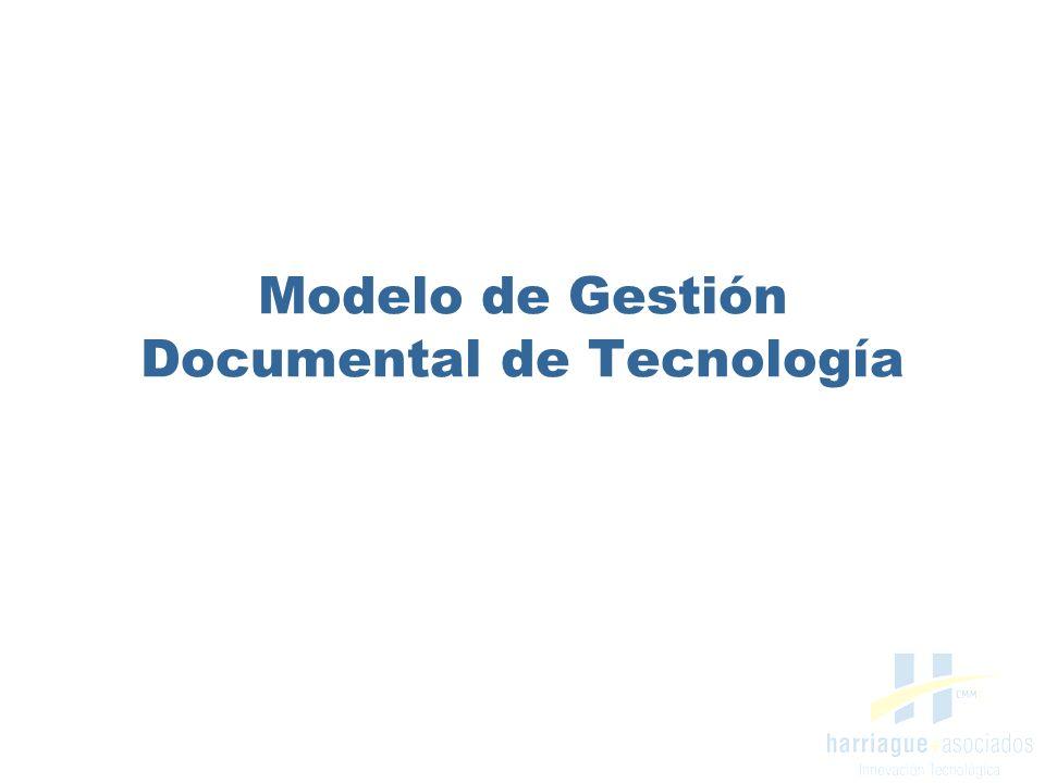 information technology service Objetivo Diseñar un Modelo de Gestión Documental que proporcione una base sólida y confiable para la correcta gestión de la información técnica del Área de Tecnología.