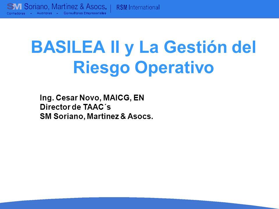 Basilea II emitido en el año 2004 considera: METODO ESTANDAR CONCEPTOS BASICOS SOBRE BASILEA Este metodo divide a los bancos en 8 lineas de negocio: 1.Finanzas corporativas.