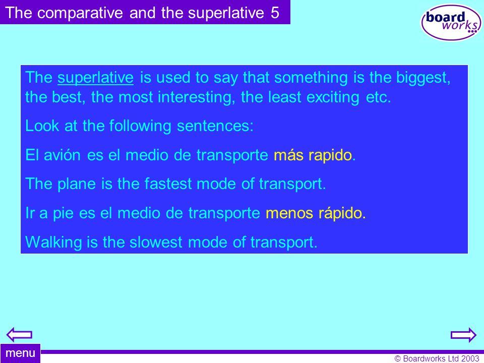 © Boardworks Ltd 2003 Make sentences using the subjunctive.