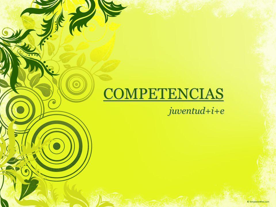 Índice 1.Objetivos de la Formación 2.Plan de Inserción 3.Marco Conceptual Definición Competencias Tipos de Competencias Niveles de Competencias 4.Metodología de Trabajo sobre Competencias Competencias Técnicas Competencias Básicas Competencias Transversales 5.Planificación, Evaluación, Seguimiento sobre Competencias Competecias Técnicas: Certificado de Profesionalidad Competencias Transversales: Módelo de Evaluación 6.Consideraciones para Aprender por Competencias 7.Currículum por Competencias 8.Material de Consulta