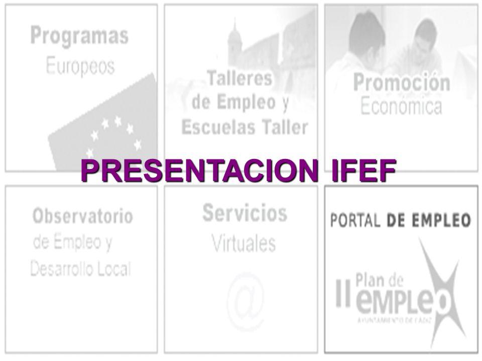 PRESENTACION IFEF