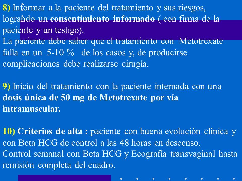 CASO 6 A.Z.,33 años, nulípara, no métodos anticonceptivos.