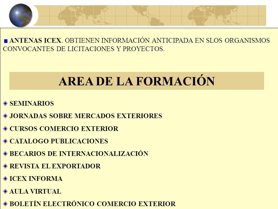 29 FINANCIACIÓN MULTILATERAL PROGRAMAS DE COOPERACIÓN DE LA UE: PVD/ALA, MED, TACIS, CARD, FED, PHARE, ISPA, BEI, ETC. ICEX INFORMA Y ASESORA PROGRAMA