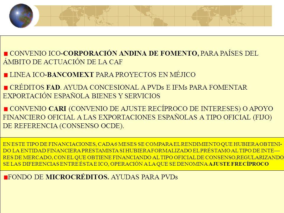 34 EL ICO EL INSTITUTO DE CRÉDITO OFICIAL ES UNA ENTIDAD PÚBLICA EMPRESARIAL ADSCRITA AL MINISTERIO DE ECONOMÍA Y HACIENDA. DISPONE DE LINEAS DE FINAN