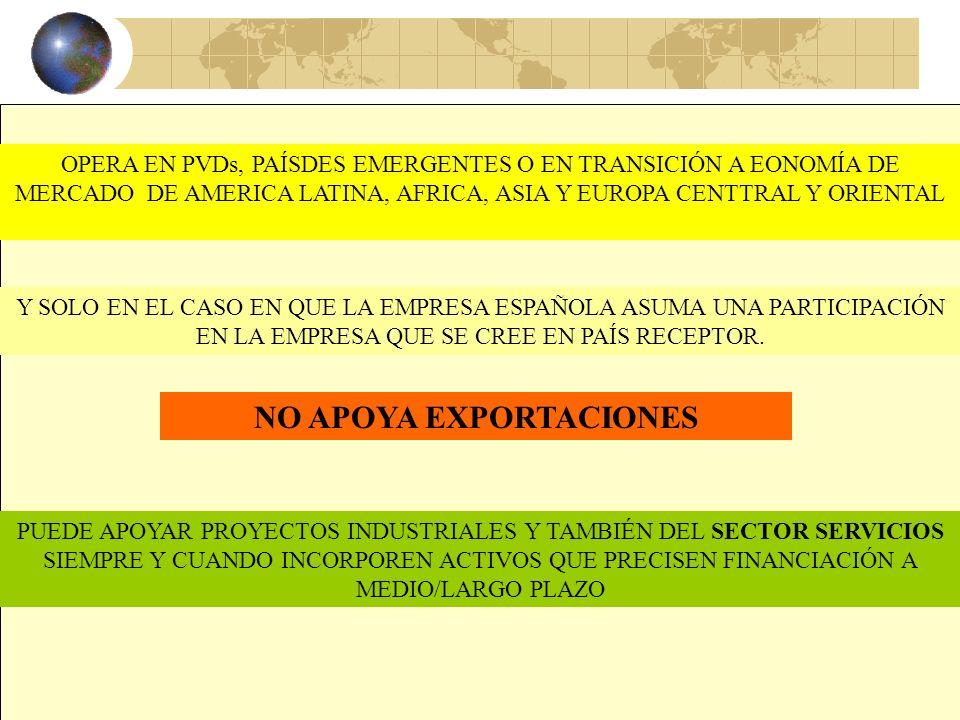 36 COFIDES LA COMPAÑÍA ESPAÑOLA DE FINANCIACIÓN DEL DESARROLLO ES UNA S.A DE CAPITAL MIXTO, PÚBLICO (MAYORÍA) Y PRIVADO, QUE FINANCIA INVERSIONES PROD