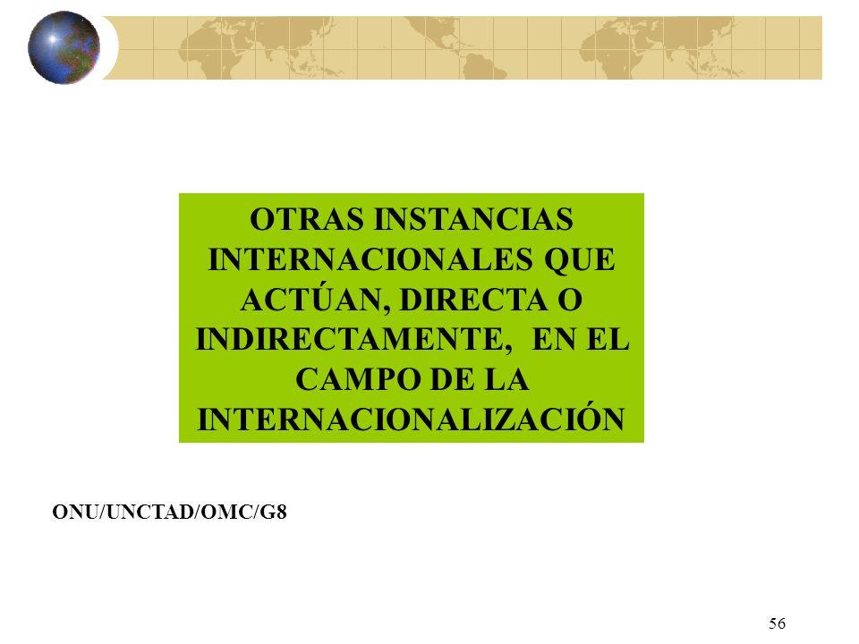 55 BANCO DE PAGOS INTERNACIONALES SE CREA EN 1930 Y ESTÁ FORMADO POR LOS BANCOS CENTRALES O INSTITUCIONES MONETARIAS DE 49 PAÍSES, MÁS EL BANCO CENTRA