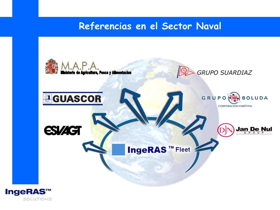 IngeRAS TM Fleet es una integración de servicios informaticos avanzados y telecomunicaciones para el sector naval.