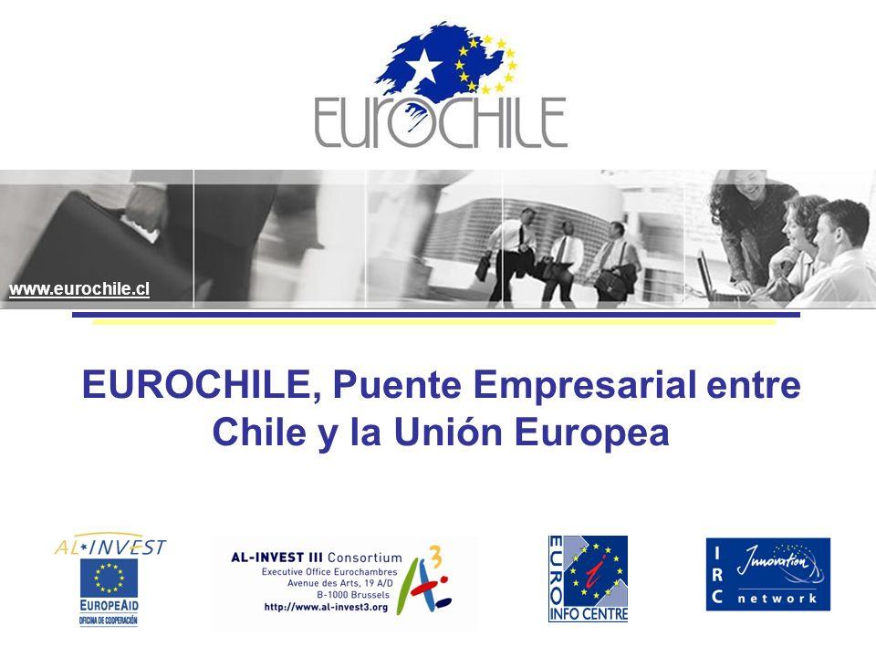 EUROCHILE, Puente Empresarial entre Chile y la Unión Europea www.eurochile.cl