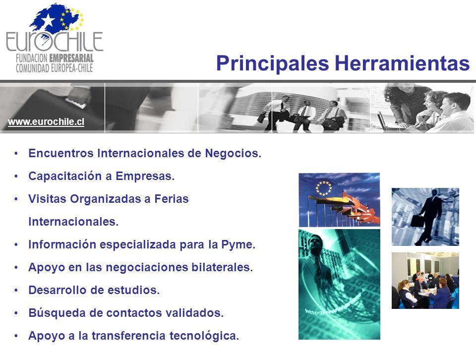 Encuentros Internacionales de Negocios. Capacitación a Empresas. Visitas Organizadas a Ferias Internacionales. Información especializada para la Pyme.