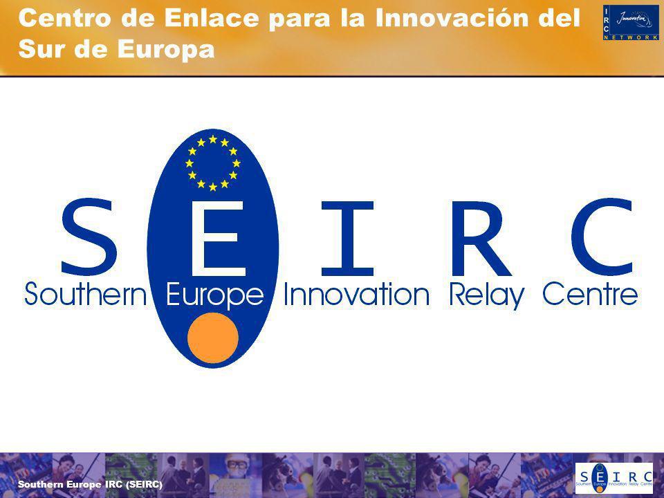 Southern Europe IRC (SEIRC) Centro de Enlace para la Innovación del Sur de Europa