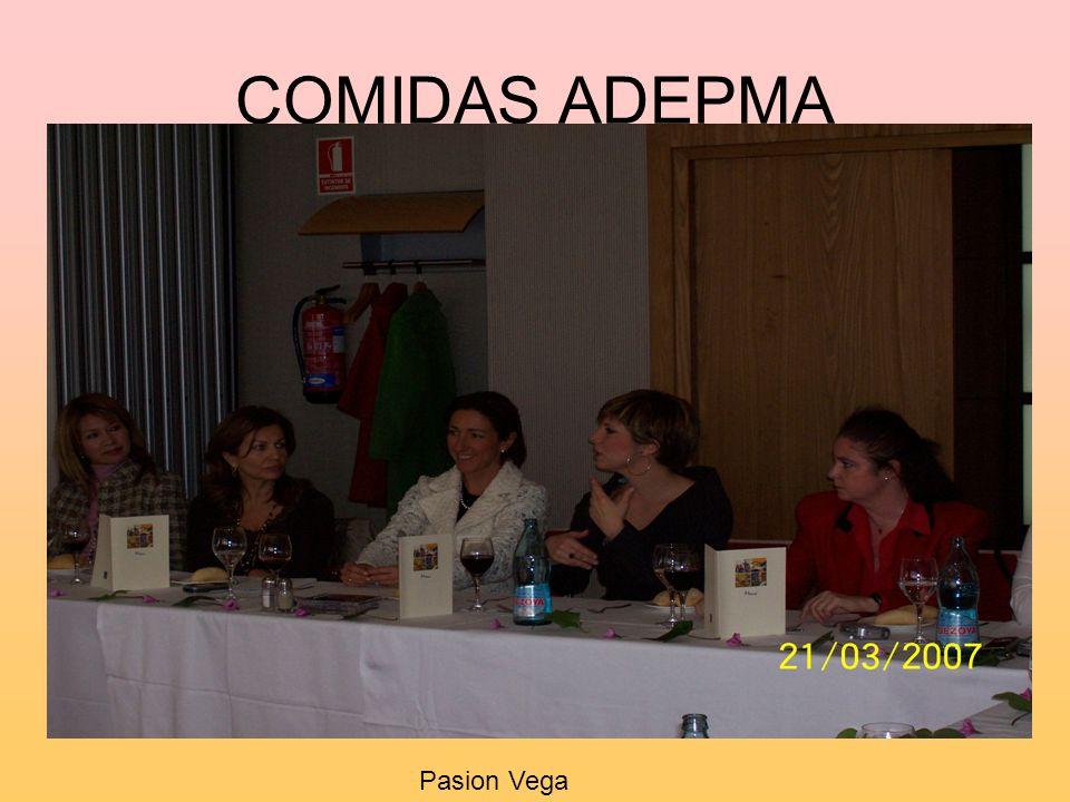COMIDAS ADEPMA Pasion Vega
