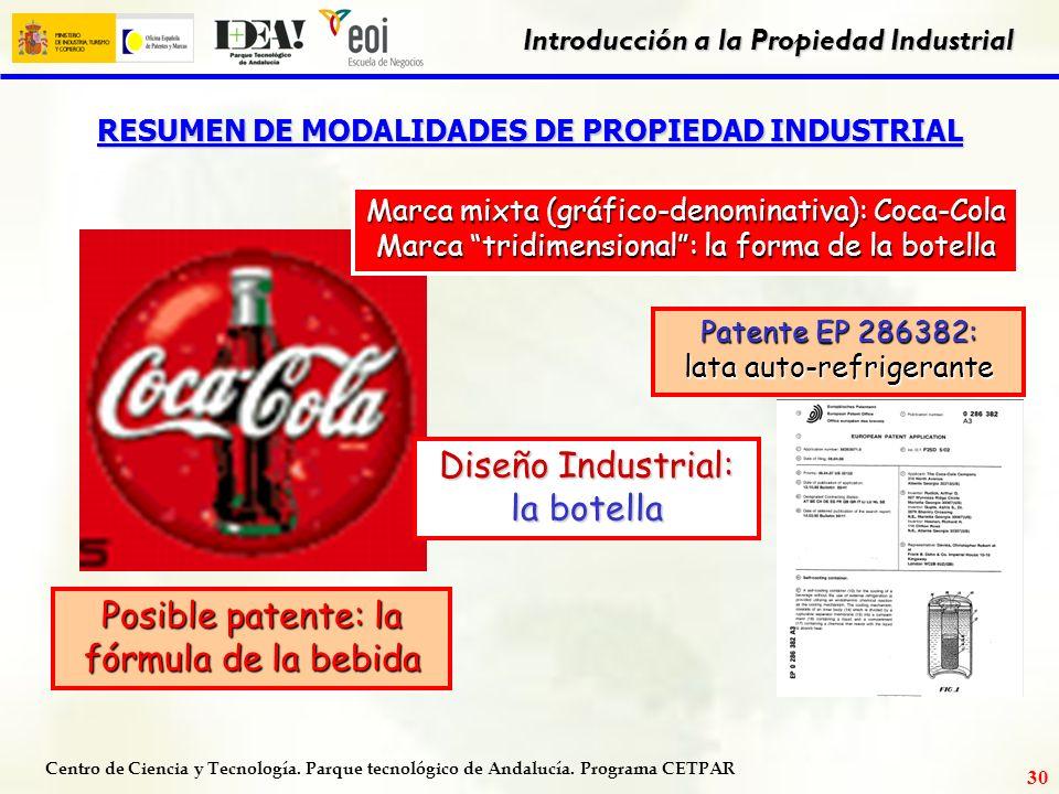 Centro de Ciencia y Tecnología. Parque tecnológico de Andalucía. Programa CETPAR Introducción a la Propiedad Industrial 29 COSTES DE LA PATENTE PCT FA