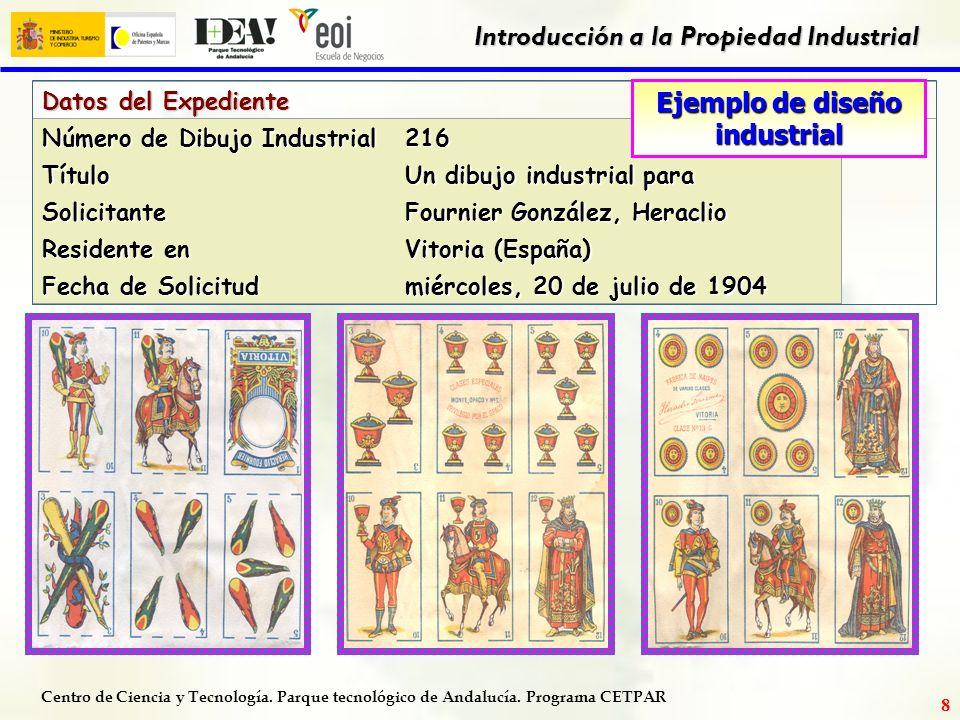 Centro de Ciencia y Tecnología. Parque tecnológico de Andalucía. Programa CETPAR Introducción a la Propiedad Industrial 7 NORMATIVA Ley Protección jur