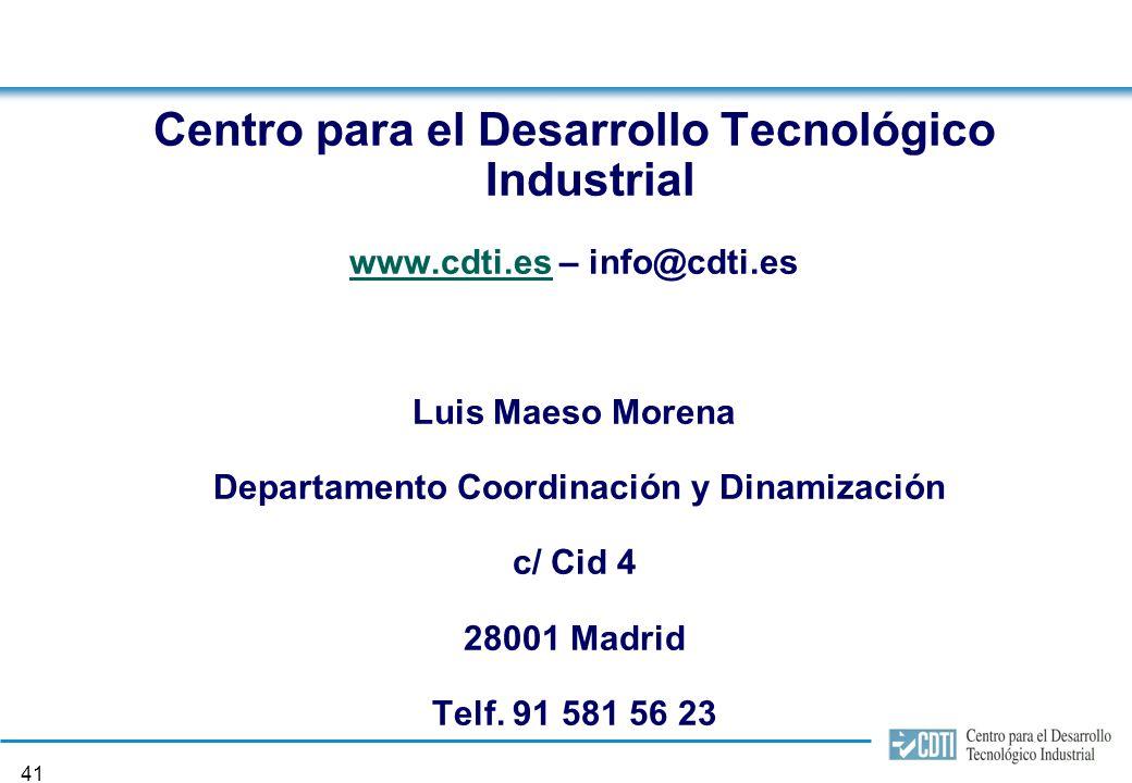 40 8. Plazo de presentación Orden de bases: ORDEN ITC/2759/2005, de 2 de agosto.
