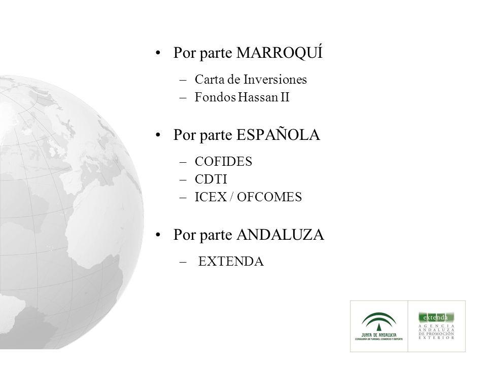Carta de Inversiones Con carácter general no existen programas de financiación.