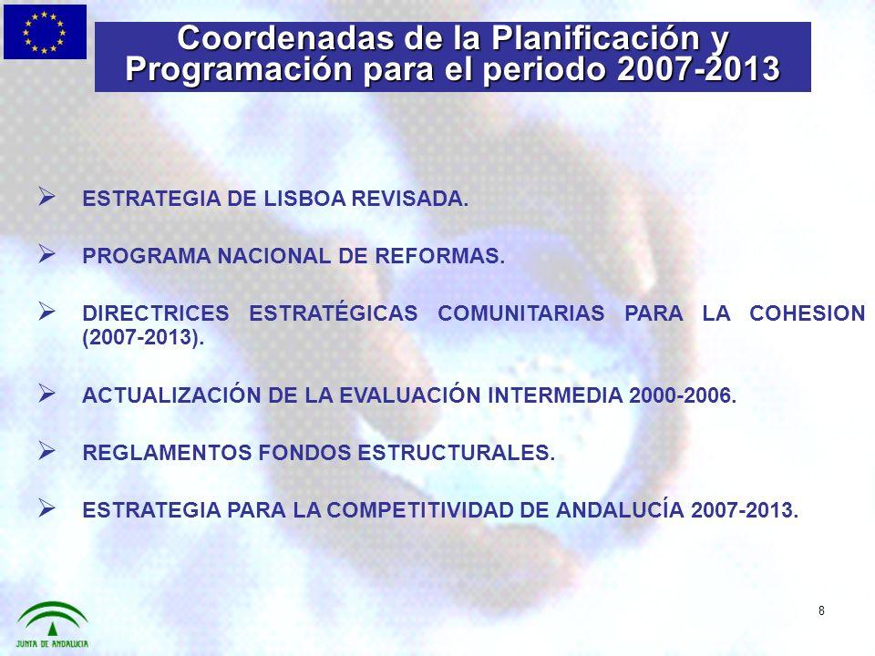 Las conclusiones de la Presidencia y el Reglamento de Disposiciones Generales estipulan que se fijarán objetivos de gasto, tanto para los objetivos « convergencia (60%) » como para « competitividad regional y empleo » (75%) para políticas que contribuyan directamente a alcanzar los objetivos de Lisboa.