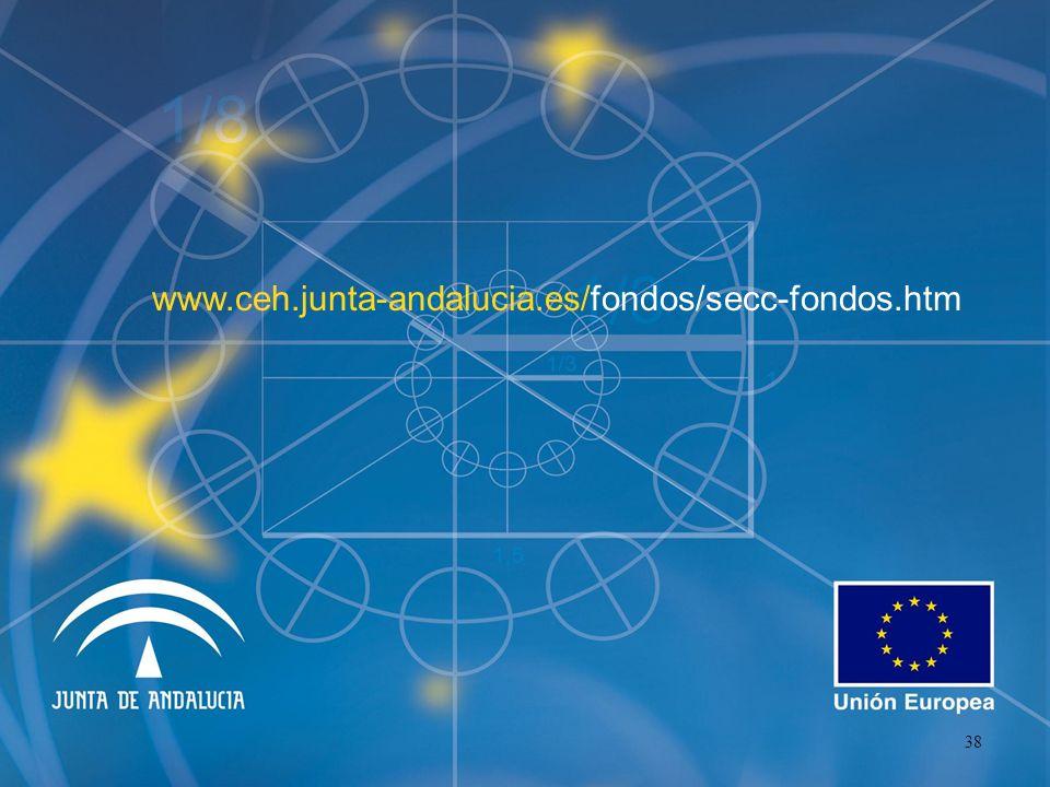 www.ceh.junta-andalucia.es/fondos/secc-fondos.htm 38