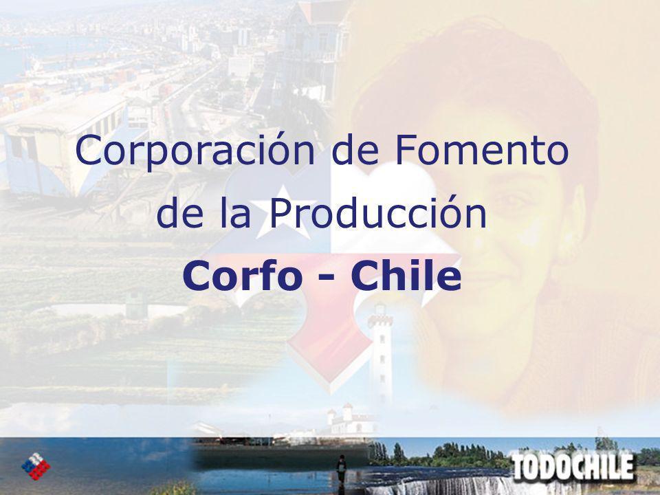 Corporación de Fomento de la Producción Corfo - Chile