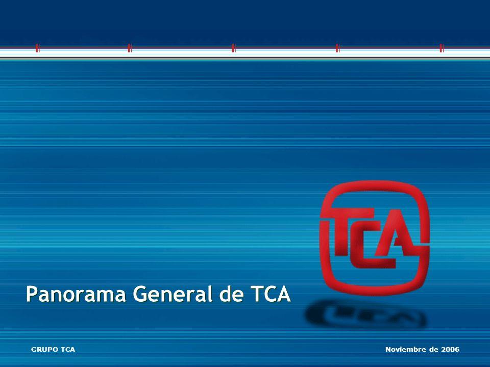 Panorama General de TCA GRUPO TCA Noviembre de 2006