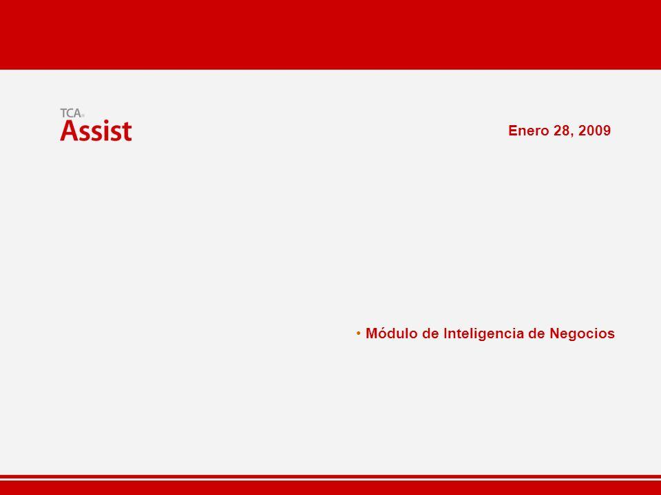 Enero 28, 2009 Módulo de Inteligencia de Negocios
