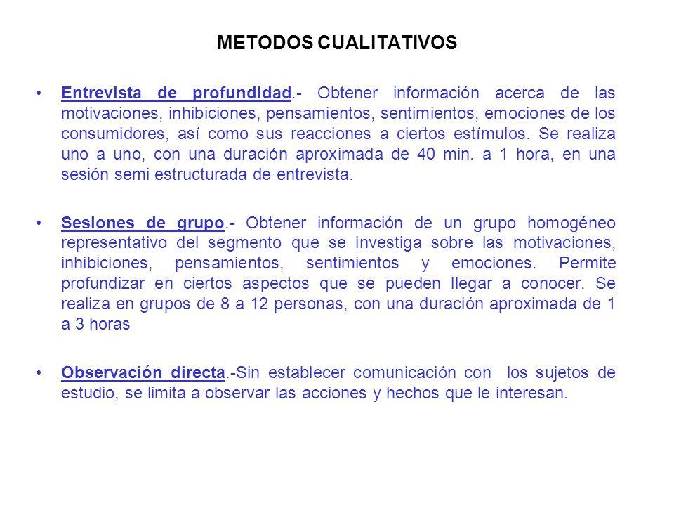 INVESTIGACION CUALITATIVA. èLa investigación cualitativa (ic) tiene dos grandes utilidades cuando se aplica a la mercadotecnia: èConocer los elementos