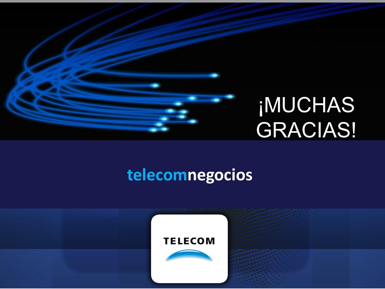 ¡MUCHAS GRACIAS! telecomnegocios