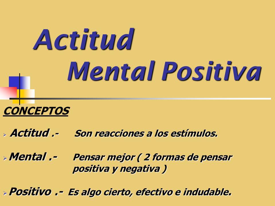 Ventajas de la Actitud Mental Positiva Desarrollas el control de tus emociones.