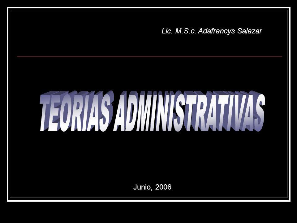 Lic. M.S.c. Adafrancys Salazar Junio, 2006