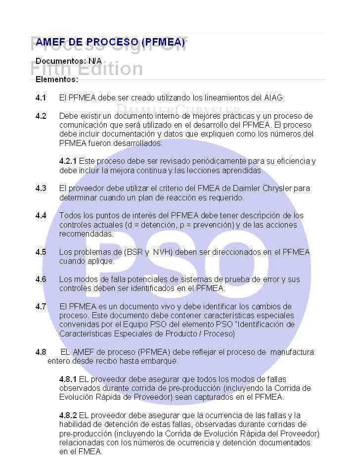 PLANES DE MANTENIMIENTO PREVENTIVO (CONT.) Elementos Requeridos 21.7 El plan y programa de PM debe contemplar las actividades de contratistas de origen externo cuando aplique.