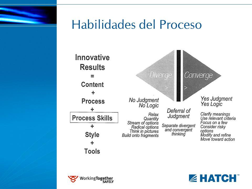 Habilidades del Proceso
