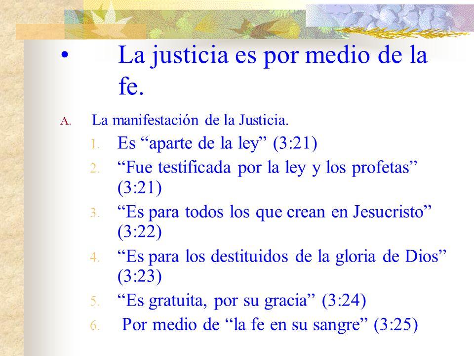 II. No hay justo. C. Que pasaba a los que estaban bajo la ley? (Rom. 3:20) 1. Ningún ser humano será justificado 2. Por medio de la ley es el conocimi