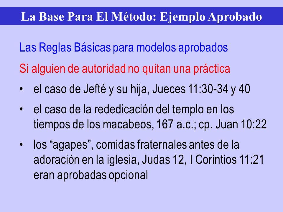 Si alguien de autoridad no quitan una práctica el caso de Jefté y su hija, Jueces 11:30-34 y 40 el caso de la rededicación del templo en los tiempos d