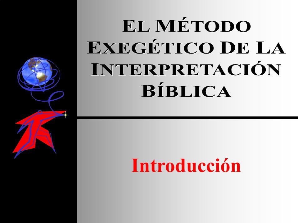 A.La Necesidad de un Sistema de Interpretación INTRODUCCIÓN I Corintios 2:15 el hombre espiritual juzga todas las cosas y no necesita que nadie le enseñe porque tiene el Espíritu Santo 4.