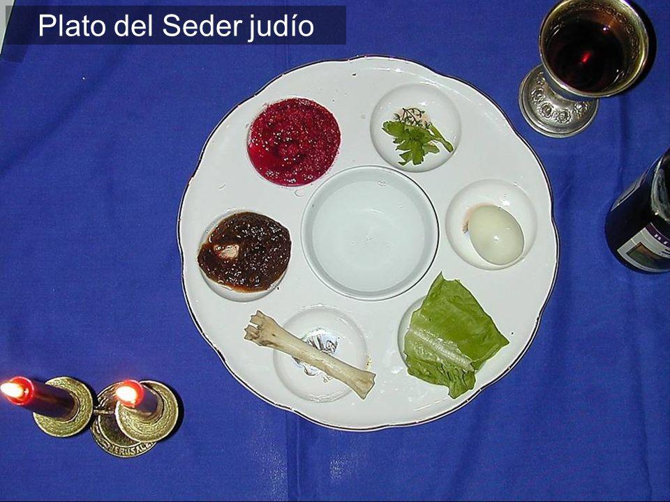 Pan y vino no sólo elementos de la Pascua, sino los elementos más comunes de las comidas de ese día.