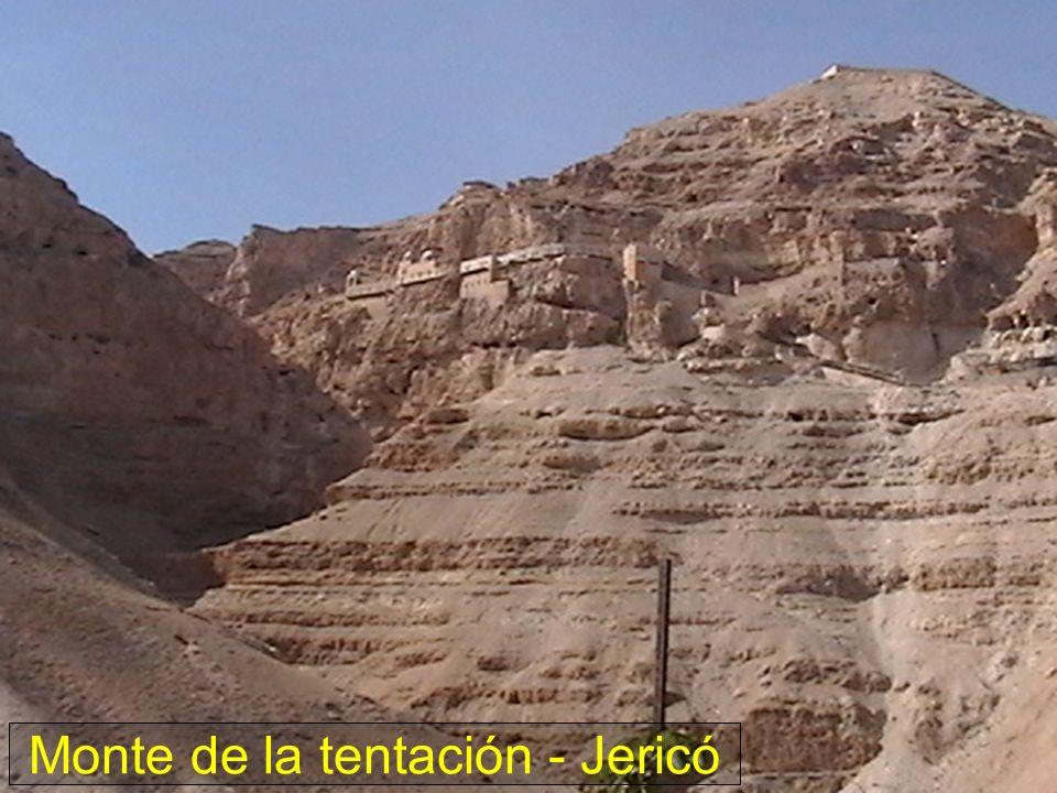Monte de la tentación - Jericó