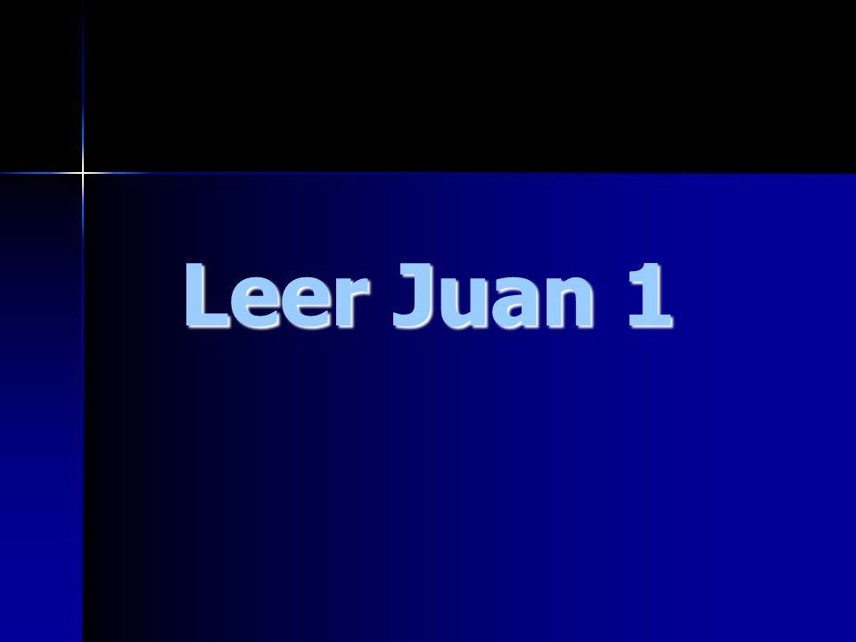 Leer Juan 1
