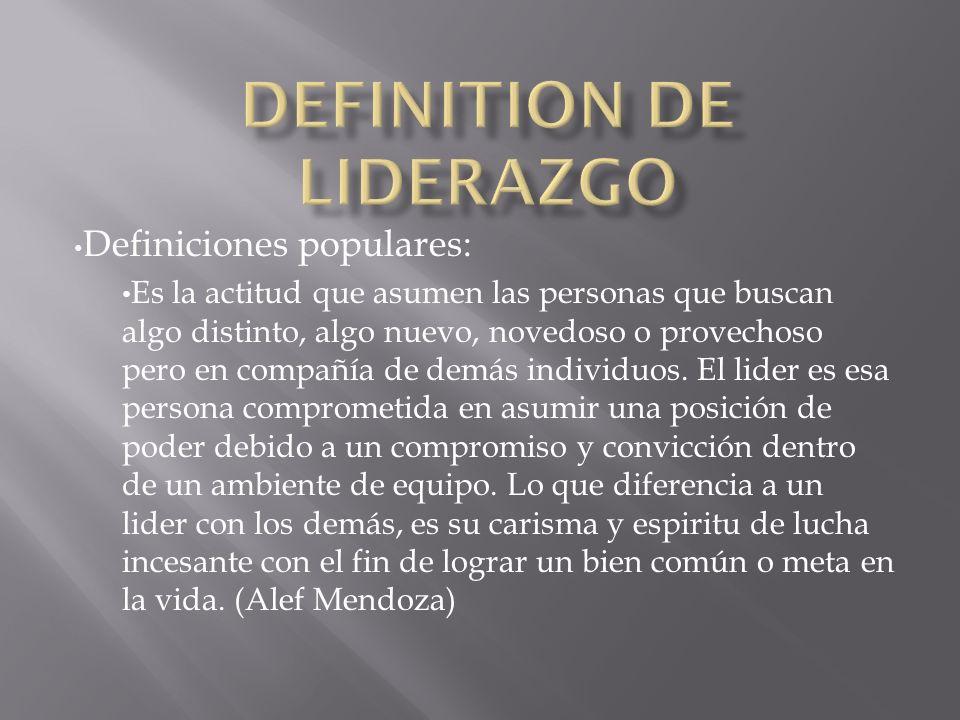 Definiciones populares: Es la actitud que asumen las personas que buscan algo distinto, algo nuevo, novedoso o provechoso pero en compañía de demás in