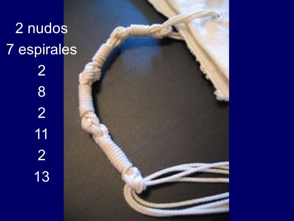 2 nudos 7 espirales 2 8 2 11 2 13
