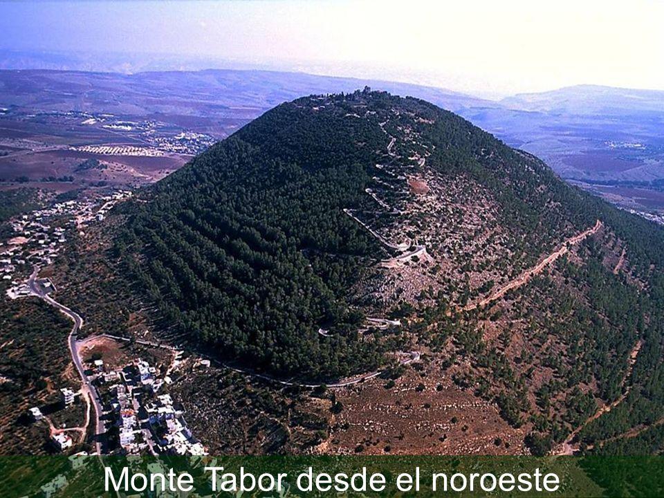 Monte Tabor desde el noroeste