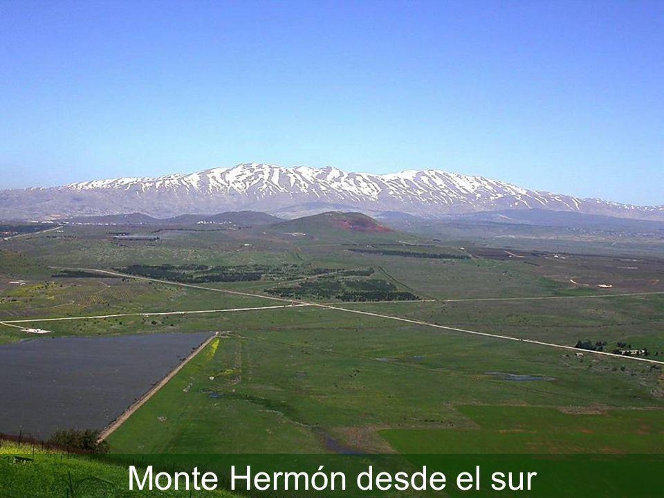 Monte Hermón desde el sur