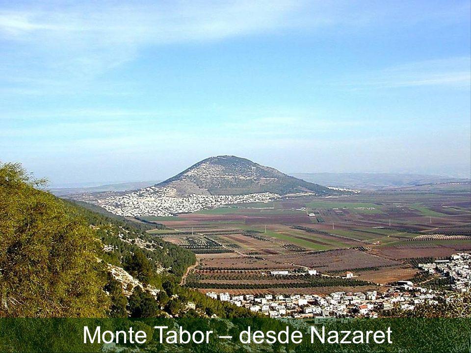 Monte Tabor – desde Nazaret