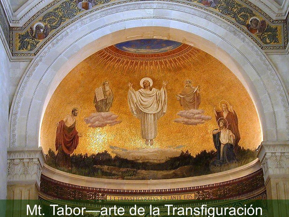 Mt. Taborarte de la Transfiguración